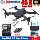 Drone Kits WIFI FPV 1080P HD Camera 3Batteries Foldable Selfie RC Quadcopter UK