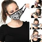 Kyпить Womens Fashionable Face Mask Pattern Washable Reusable Cloth Cotton-lined Inside на еВаy.соm