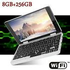 7-inch Pocket Laptop Computer Wifi Bluetooth For Windows 10 2.4ghz 8gb+258gb In