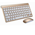 Quiet Wireless Keyboard & 1200DPI Mouse Combo for Windows PC Mac Computer