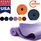 Athletic Exercise yoga mat MADE IN USA Multicolor Sameday FAST Shipping