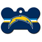 Los Angeles Chargers Dog/Pet ID Tag--Free Custom Engraving--FREE SHIPPING $11.99 USD on eBay
