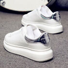 Ladies Womens Chunky Lace Up  Trainers Sports Running Comfy shoes 2.5-9