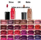 Avon mark. Liquid Lip Lacquer Lipstick Moisturising Lasts 4 Hours ~ Choose Shade