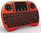 New Rii i8+ mini Backlit Wireless Keyboard+Touchpad Mouse 2.4GHz