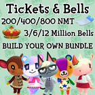 Nook Miles Tickets & Bells   Animal Crossing New Horizons   Mix & Match