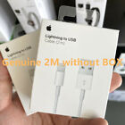 Genuine iPhone Charger Cable - Apple Lightning Sync USB Lead 7 8 X XS XR SE