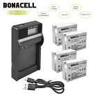 2/4x NB-10L Battery + USB Charger for Canon PowerShot SX40 SX50 HS G16 G15 G1X