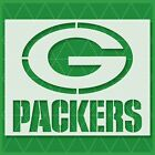 Green Bay Packers stencil - Reusable & Durable - 10 mil - Free Shipping - Custom