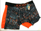 Men's Jockey 2-Pack Orange Athletic RapidCool Stretch Boxer Briefs Underwear