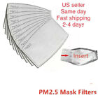10-100 PC PM2.5 ACTIVATED COTTON CARBON FILTER FACE MASK BREATHING ADULT & KIDS