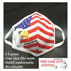 American Eagle Flag / American Strong Fashion Face Mask Reusable Adult Unisex