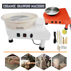 USA 25CM Electric Pottery Wheel Machine Pottery Bar Art Crafts DIY Ceramics Make image