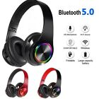 Super Bass Wireless Bluetooth Headphones Foldable Stereo Earphones Headsets Mic