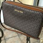 Michael Kors Women PVC Leather Crossbody Bag Handbag Purse Messenger Shoulder MK image