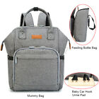 Mummy Mom Maternity Nappy Diaper Bag Large Capacity Baby Travel Backpack  W