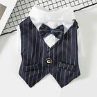 Summer Pet Small Dogs Cat Clothes Suit Bichon Teddy Thin Gentleman Tuxedo Dress