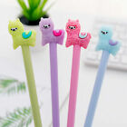 Kawaii Alpaca Black Gel Ink Roller Ball Point Pens School Pen Kids Korean M7f9