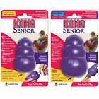 KONG Classic Senior Dog Chew Toy Treat Dispensing Durable Purple Rubber