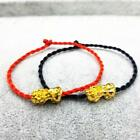 Feng Shui Weaving Rope Wealth Pi Xiu Bracelet Attract Luck Good Top Wealth N7t3
