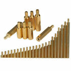 M2 M3 M4 Brass Male-Female Hex Standoff Screw Spacer Pillar Brass Hex support