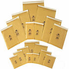 Strong Bubble Padded Envelopes Self Seal Recycled Jiffy Gold Bags ALL SIZE/QTY'S