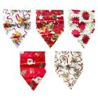 Darcon Christmas Table Runner Flag Cloth Mat Festival Party Home Decoration #8y