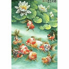 Full Drill Diamond Painting Kit Like Cross Stitch Goldfishes Lotuses Pool ZB036E $17.75 USD on eBay