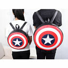 New Marvel Avengers Captain America Shield Backpack Bag Shoulder Bag Xmas Gift