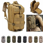 Military Tactical Backpack Army Hiking Camping MOLLE Assault Bag For Men Women