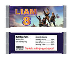 Fornite Candy Bar Wrappers Stickers, Fornite Hersheys Chocolate Bar wraps