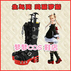 Dead or Alive Marie Rose Cosplay Long Boots Handmade Custome Made Any size
