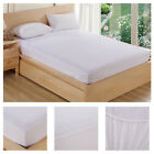 Mattress Pads Cover Waterproof Bedding Sheet Protector Fitted Deep Bed Sheet  image