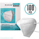 100 KN95 FFP2 N95 Face Mask 95% Hygienic Face Cover Virus Protection Non Medical
