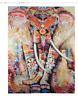 Elephant Style Hanging Mat Art Beach Towel Carpet Tapestry for Picnic 150 x 200c