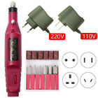 35000RPM Rechargeable Portable Electric Manicure Drill Machine Nail File Set
