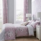 Catherine Lansfield Canterbury Heather Duvet Cover Set or Accessories