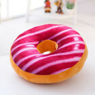 Plush Donut Fruit Cushion Cover Soft Pillow Round Seat Chair Pads Home Sofas Bed