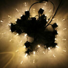 20 Bulb String Lights Mains Garden Xmas Outdoor Hanging Fairy Lamps Lighting DIY