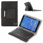 "US Universal Wireless Keyboard Leather Case Cover Stand For 7.0"" 8.0"" Tablet"