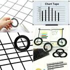 1pc 3mm Self Adhesive Whiteboard Grid Gridding Marking Non Magnetic l01 N6L6