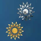 Decoration Wall Sticker Removable Mirror Sun Art Mural Decal Home Room