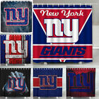 "New York Giants 72"" x 72"" Waterproof Bathroom Shower Curtain Accessory Set"