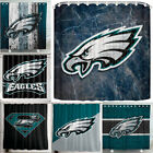 "Philadelphia Eagles 72 x 72"" Waterproof Bathroom Shower Curtain Accessory Set"