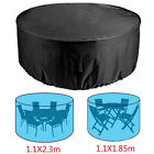 Large Round Waterproof Outdoor Home Garden Patio Table Chair Set Furniture Cover