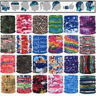 Bandana Head Face Mask Neck Gaiter Snood Headwear Beanie Warps Tube Scarf Caps