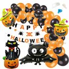 Halloween Balloon Garland Arch Kit DIY Orange Black Balloons Set for Halloween