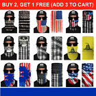 Kyпить FACE MASK Neck Gaiter US Flag Bandana Scarf Tube Washable Reusable Cover Shield на еВаy.соm
