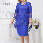 Mother Of The Bride Dresses With Jacket Plus Size Wedding Party Gown Scoop Neck