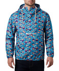 COLUMBIA MENS M CHALLENGER WINDBREAKER PULLOVER WATER RESITANT PACKABLE JACKET